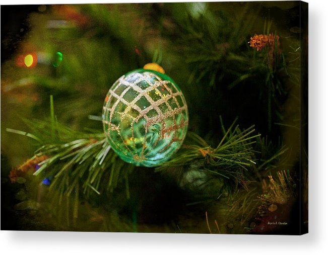Merry Christmas Acrylic Print featuring the photograph Christmas Wish by Angela Stanton