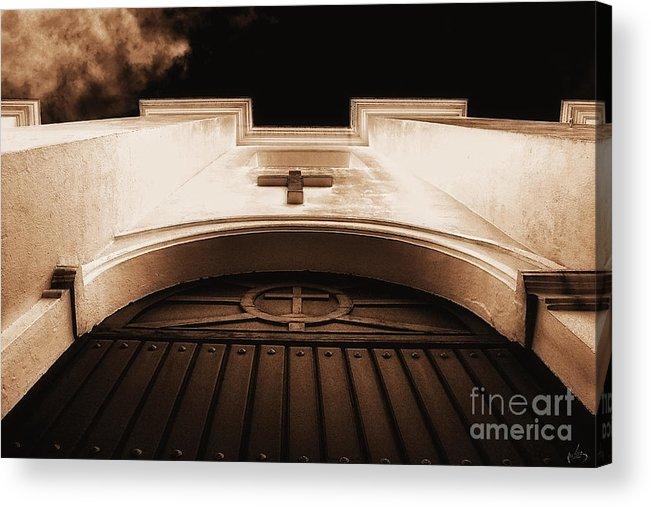 Awsome-image Acrylic Print featuring the photograph Church by H Scott Cushing