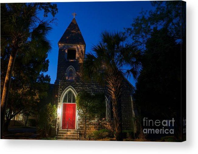 Church Of The Holy Cross Acrylic Print featuring the photograph Church Of The Holy Cross by Dale Powell