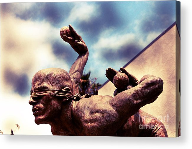 Orange County Acrylic Print featuring the photograph Cirque Sculpt by Andrea Aycock