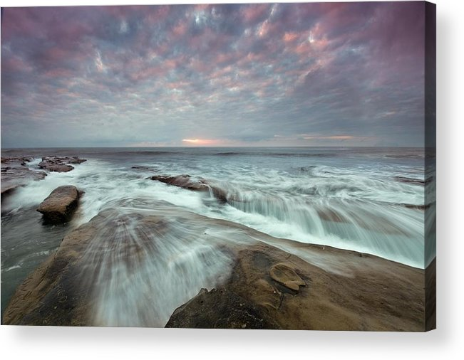 Acrylic Print featuring the photograph Clarity La Jolla by Lee Bertrand