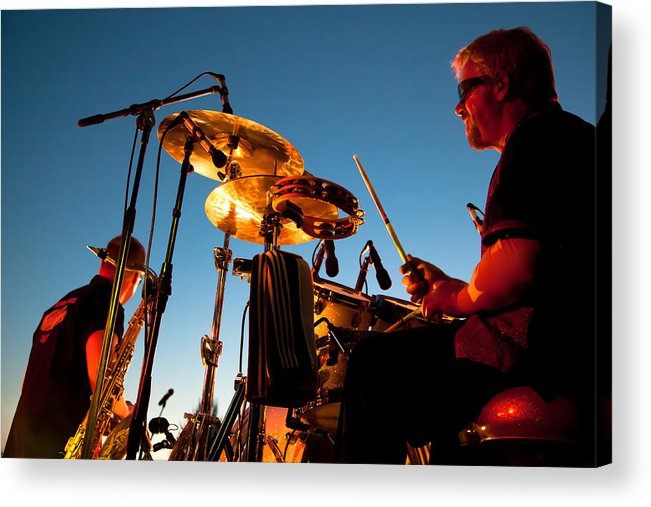 The Kingpins Acrylic Print featuring the photograph Cliff Miller And Dale Keeney - The Kingpins by David Patterson