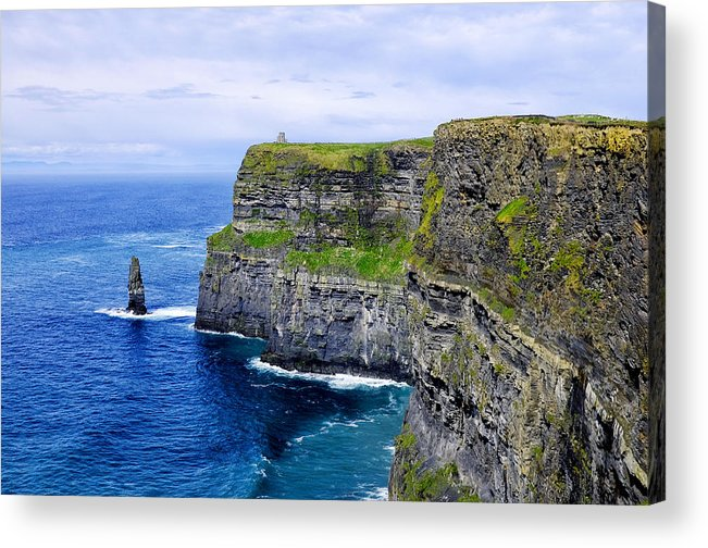 Cliffs Acrylic Print featuring the photograph Cliffs Of Moher by Fabrizio Troiani