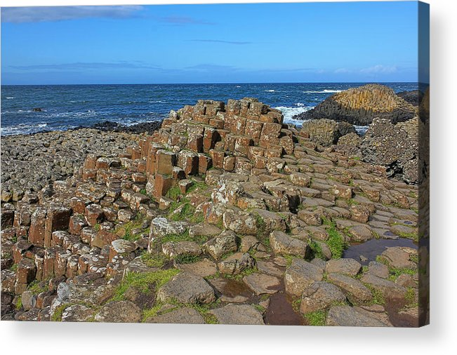 Giant's Causeway Acrylic Print featuring the photograph Clochan An Aifir by Lanis Rossi