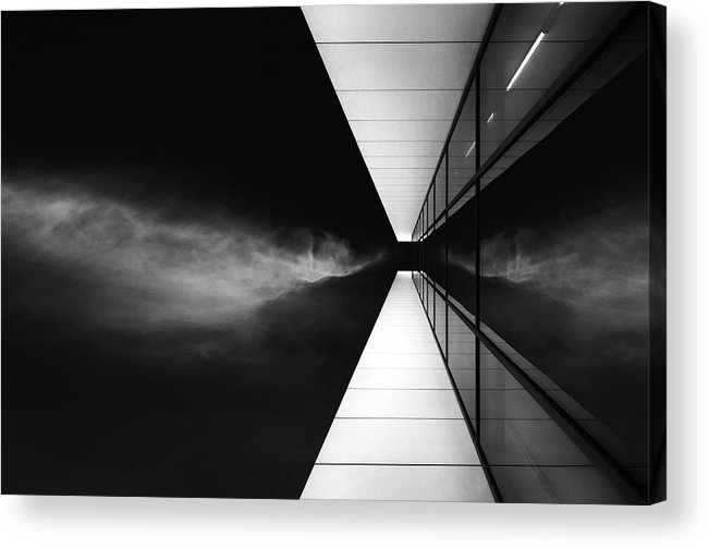 Architecture Acrylic Print featuring the photograph Cloud Attack by Jeroen Van De