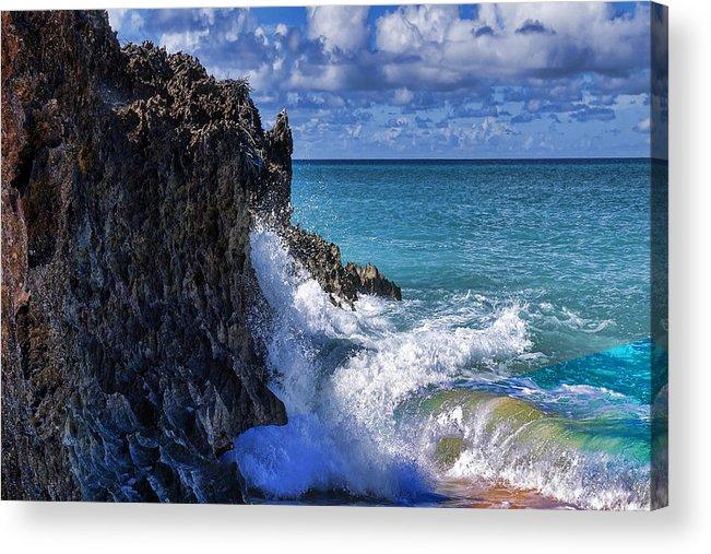 Beach Acrylic Print featuring the photograph Coast 5 by Ingrid Smith-Johnsen