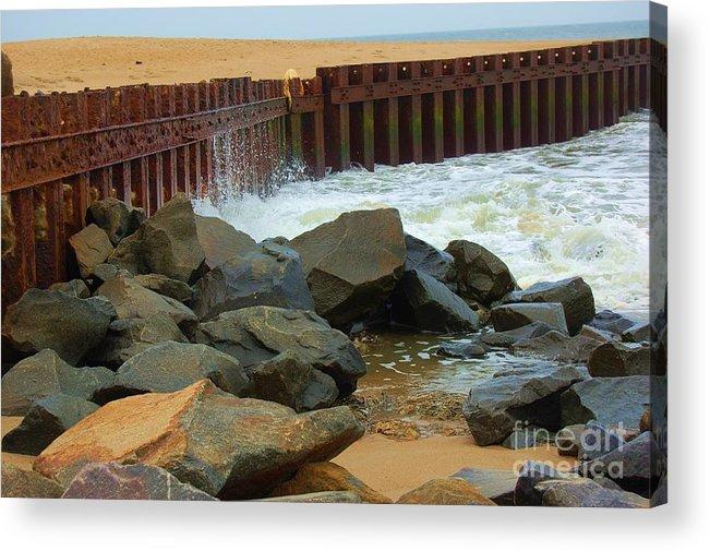 Water Acrylic Print featuring the photograph Coast Of Carolina by Debbi Granruth