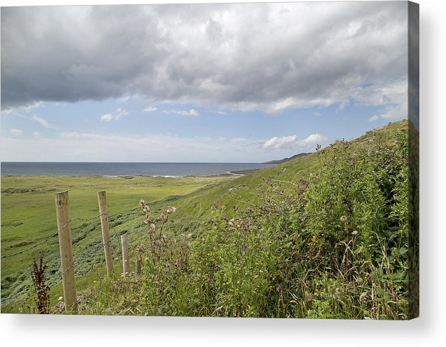 Field Acrylic Print featuring the photograph Coastal Country by Betsy Knapp