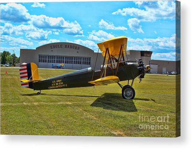 Consolidated Pt-3 Acrylic Print featuring the photograph Consolidated Pt-3 by Tommy Anderson