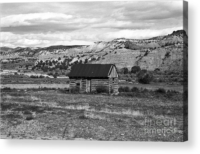 Utah Acrylic Print featuring the photograph Courage by Kathy McClure