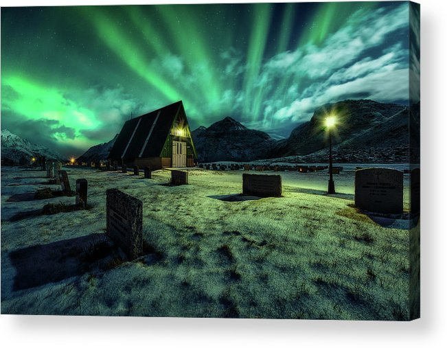 Night Acrylic Print featuring the photograph Dancing All Night Long by Javier De La