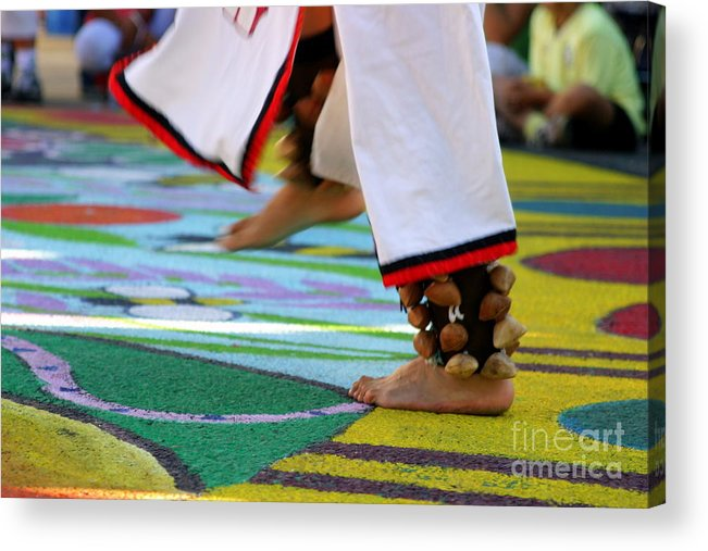 Dancing Acrylic Print featuring the photograph Dancing Feet by Henrik Lehnerer