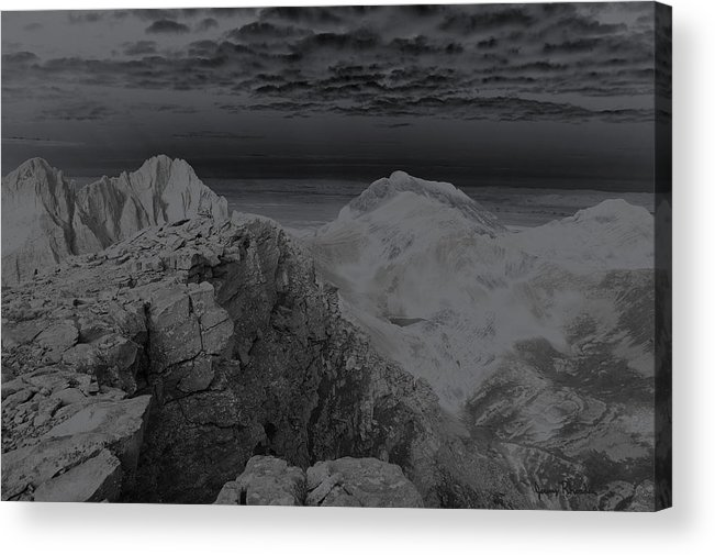 Landscapes Acrylic Print featuring the photograph Dark Planet by Jeremy Rhoades