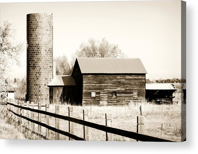 Americana Acrylic Print featuring the photograph Days Gone By by Marilyn Hunt