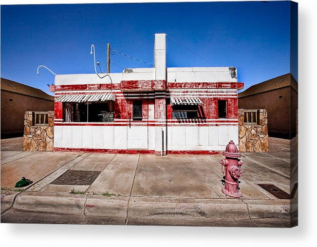 Arizona Acrylic Print featuring the photograph Diner by Peter Tellone