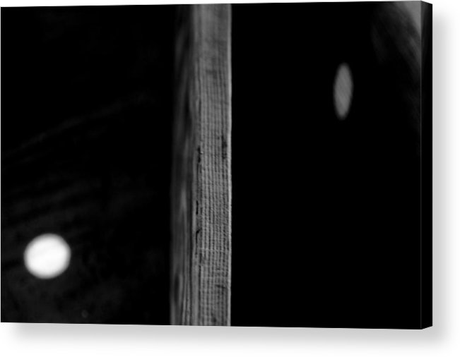 Abstract Acrylic Print featuring the photograph Dividing by Sean O'Cairde
