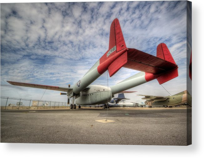 C-119 Acrylic Print featuring the photograph Dollar Nineteen by David Dufresne