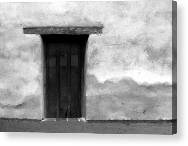 Acrylic Print featuring the photograph Door by Joey Maganini