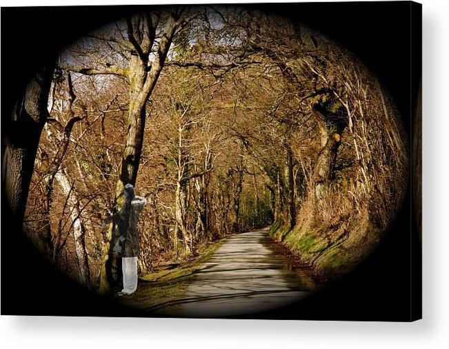 Spirit Acrylic Print featuring the photograph Down There by Christopher Rowlands