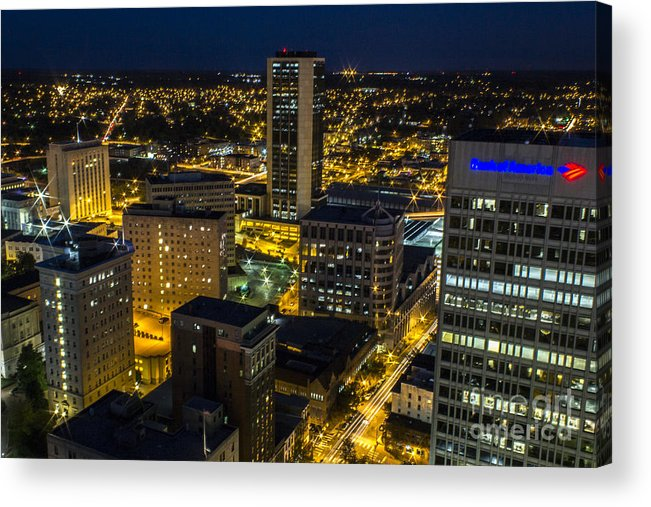 Suntrust Acrylic Print featuring the photograph East Richmond Nights by Debra K Roberts