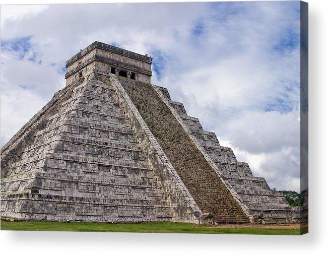 3scape Photos Acrylic Print featuring the photograph El Castillo by Adam Romanowicz