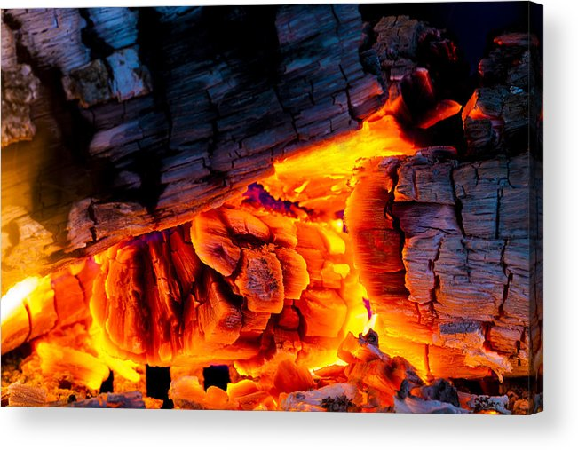 Ash Acrylic Print featuring the photograph Embers by Marc Garrido