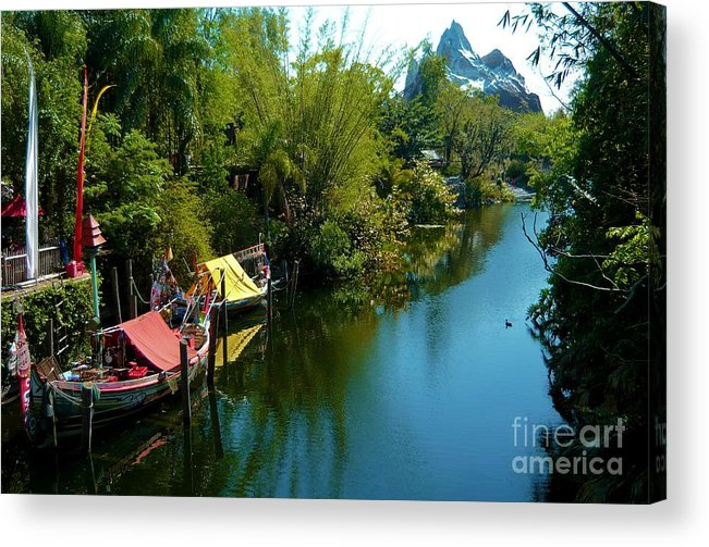 Epcot Acrylic Print featuring the photograph Fantasy Land by Annette Allman