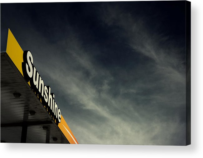 Sunshine Acrylic Print featuring the photograph Filling Up by Mark Ross