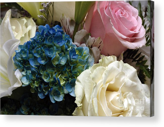 Andee Design Flower Acrylic Print featuring the photograph Flowers For Zoe Ellen by Andee Design