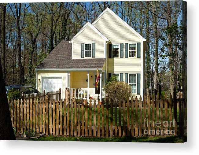 Door Acrylic Print featuring the photograph Forrest Home by Jim Pruitt