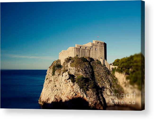 Europe Acrylic Print featuring the photograph Fort Lovrijenac - St Lawrence by Erin Johnson