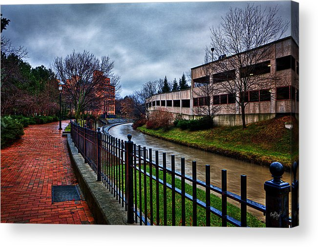 Franklin Acrylic Print featuring the photograph Franklin Park by Everet Regal