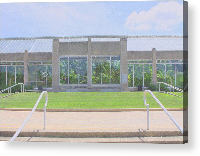 Park Acrylic Print featuring the photograph Garfield Park Conservatory by Andrea Lynch