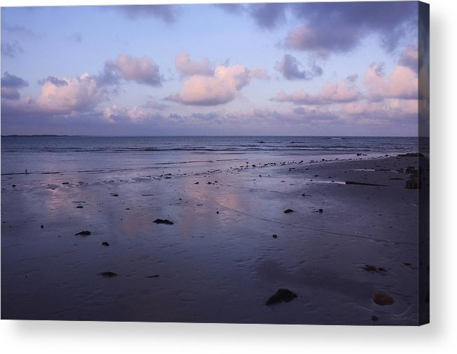 Beachscape Acrylic Print featuring the photograph Gentle Reflections by Amanda Holmes Tzafrir