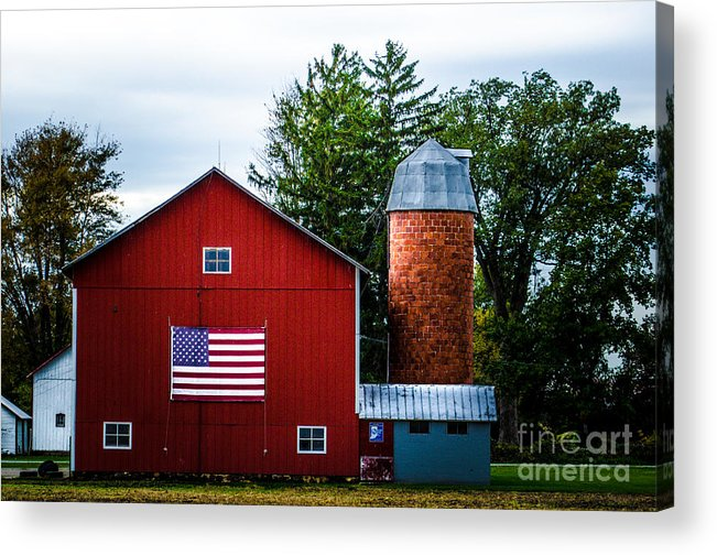 469 Acrylic Print featuring the photograph Grandfathers Barn by Michael Arend