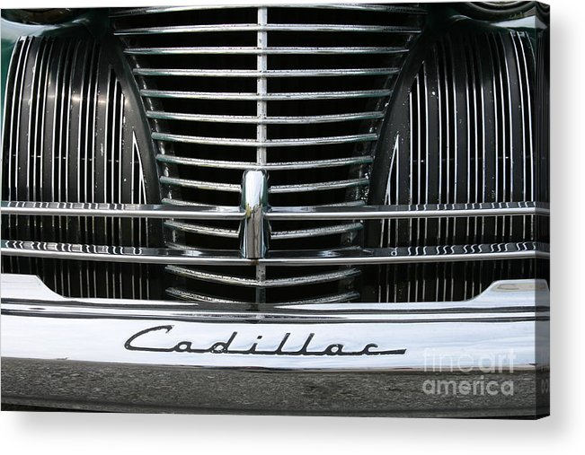 Cars Acrylic Print featuring the photograph Grillwork by Crystal Nederman