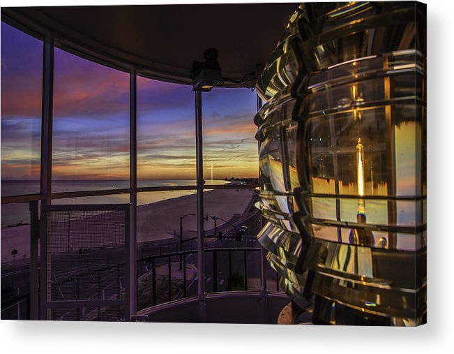 Lighthouse Acrylic Print featuring the photograph Guiding Them Home by Brian Wright