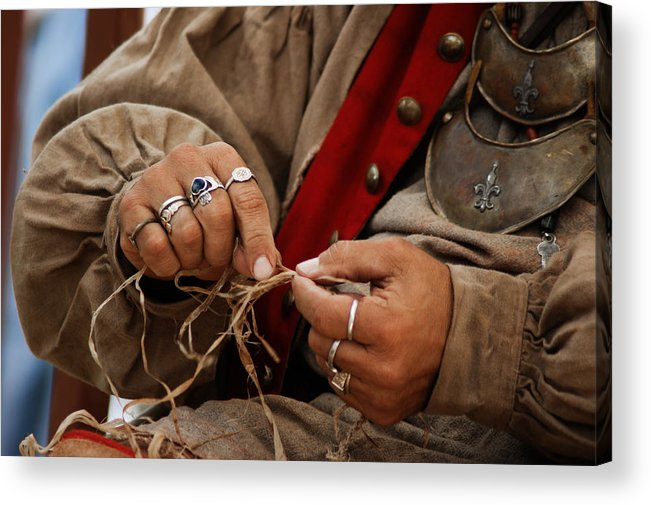 Hands Acrylic Print featuring the photograph Hands by Off The Beaten Path Photography - Andrew Alexander