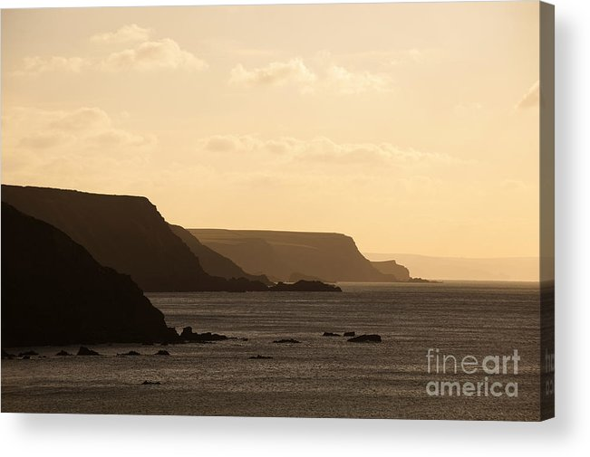 Headland Acrylic Print featuring the photograph Headland by Anne Gilbert