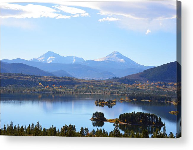 Rocky Mountains Acrylic Print featuring the photograph Heaven by Jimi Bush