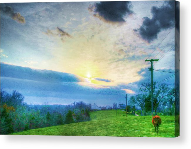 Ozark Acrylic Print featuring the photograph Hicks Farm #1 by John Derby