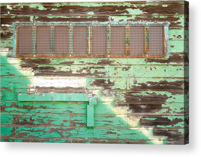 Decay Acrylic Print featuring the photograph Hunters Point Building by David Pierce
