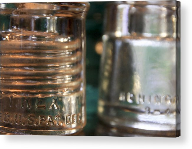 Wire Insulators Acrylic Print featuring the photograph Insulators by Jason Standiford