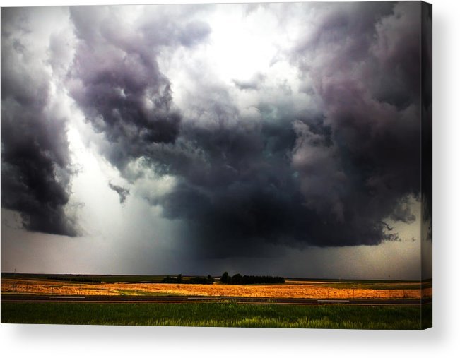 Nick Acrylic Print featuring the photograph It Happens In Kansas by Nicholas Evans