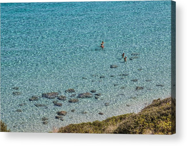 Sea Acrylic Print featuring the photograph Italian Sea by Leonardo Marangi