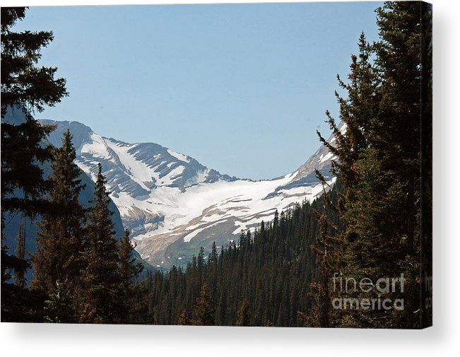 Jackson Glacier Acrylic Print featuring the photograph Jackson Glacier- Glacier Np by Cindy Murphy - NightVisions