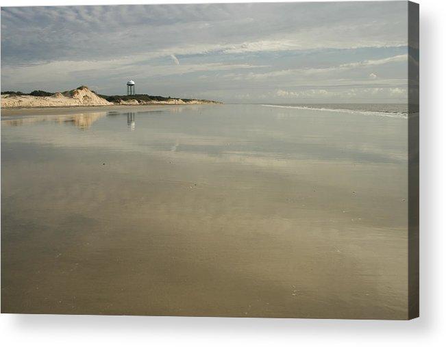 Beach Acrylic Print featuring the photograph Jekyll Beach by Barbara Northrup