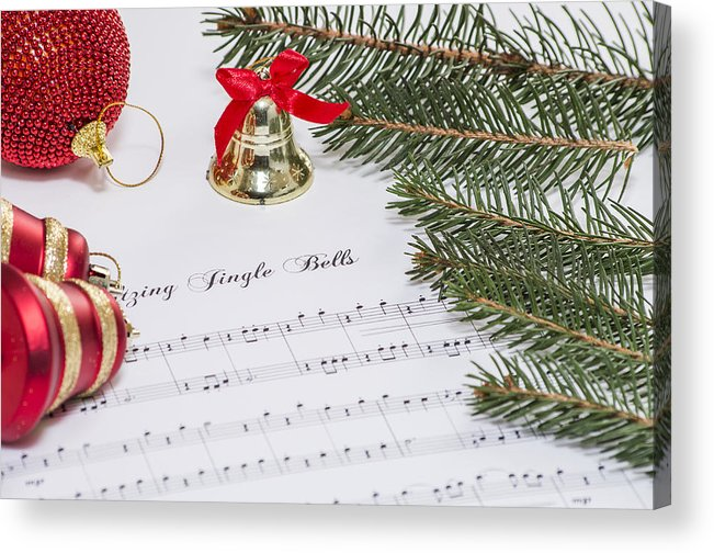 Background Acrylic Print featuring the photograph Jingle Bells by Paulo Goncalves