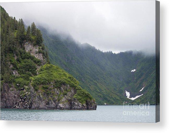 Alaska Acrylic Print featuring the photograph Kenai Fjords Alaska by Shishir Sathe