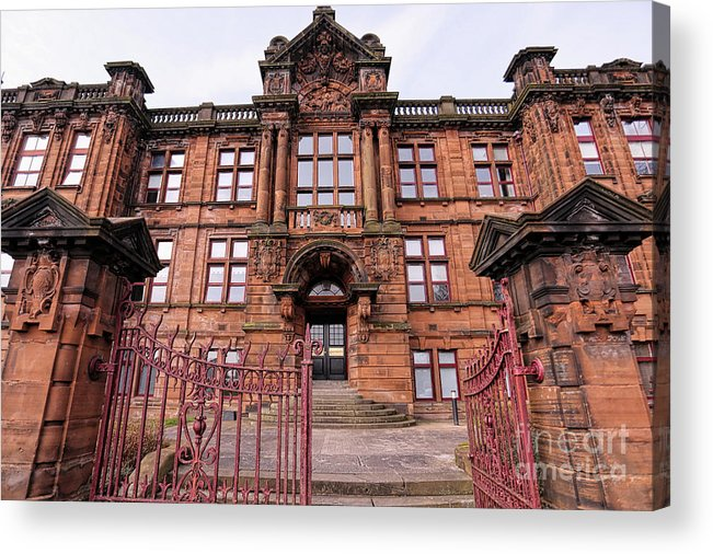 harry Potter Acrylic Print featuring the photograph Kilmarnock School by Kate Purdy